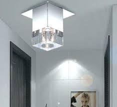 modern hallway lighting. Glass Hallway Lights Modern Lighting Brief Mini Flush  Mount Light Led .