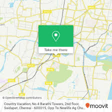 How To Get To Country Vacation No 4 Barathi Towers 2nd