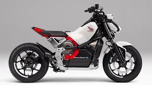 honda riding assist e self balancing electric motorcycle for