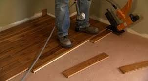 laying hardwood floors video