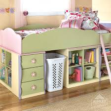 dollhouse loft bed furniture bunk ashley daybed with trundle kids beds decoration ideas minimalist