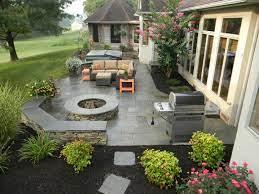 patio paver vs stamped concrete which