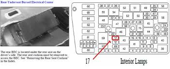 where is the fuse located for illuminated entry on a 2000 cadillac 1994 cadillac sedan deville fuse box diagram at Pictute Of Fuse Box On 1999 Cadillac Deville