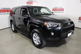 Certified Pre-Owned 2017 Toyota 4Runner Sport Utility in Escondido ...