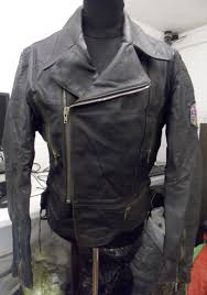 zipp main zipper men s motorcycle leather jacket with patch on left sleeve a 43 1 9 kg