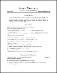 Resume For Graduate School Nmdnconference Com Example Resume And