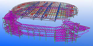 Pinnacle Bank Arena Seating Chart Tool Amazing 3d Models Created With Tekla Bim Software Tekla