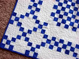 Teal Blue Diamond Blue Then Baby Quilt S Home Sewn By Carolyn To ... & Marvelous Quilts Then Quilts Blue in Blue And White Quilt Adamdwight.com