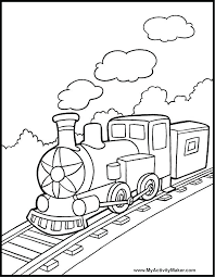 Train Coloring Train Coloring Pages Printable Train Coloring Pages