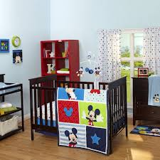 bedding sets by disney disney mickey mouse 3 pc baby bedding