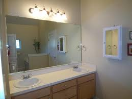 An update of a large bathroom mirror