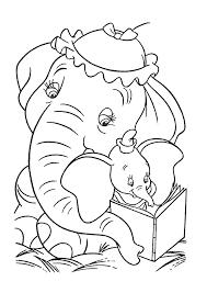 Dumbo Boekje Lezen Dumbo Kleurplaten Kleurplaatcom