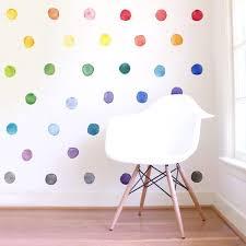 rainbow bedroom kids wall decor