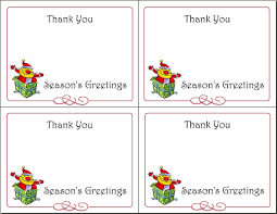 Printable Thank You Christmas Card Rome Fontanacountryinn Com