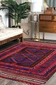 abstract kilim area rug turkish designer