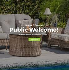 palm casual patio furniture. 1 Palm Casual Patio Furniture L