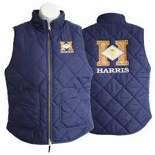 Crew Quilted Vest – Navy | Harris Leather & Silverworks ... & Crew Quilted Vest – Navy Adamdwight.com