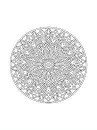 Mandala14 Disegni Da Colorare Per Adulti E Ragazzi Colorare