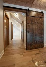 barn doors made from reclaimed douglas fir salvaged from a nearby warehouse home decoration interior design ideas