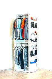 how to hang a closet rod home depot pole chrome long hanging