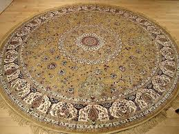 beige round area rug carpets country rugs cotton geometric circle accent canada