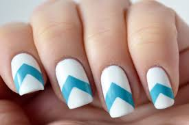 30 + Striped Nail Designs and Ideas - InspirationSeek.com