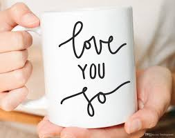 Je T Aime Tellement Tasse D Amour Meilleur Ami Tasse Cadeau Petit Ami Cadeau Pour Elle Cadeau De Mari Une Tasse De Café