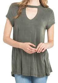 Mitto Shop Mittoshop Choker Style Cap Sleeve Tee Shirt At