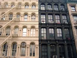 D Building Class Fireproof Elevator Apartments In NYC - New york apartments outside