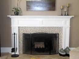 Stone Mantel Fireplace
