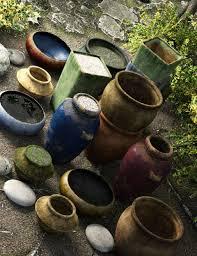 garden pottery. garden pottery