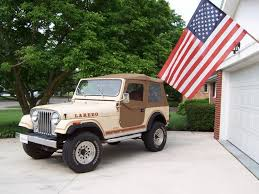 83 jeep cj7 laredo original paint and decals listed on e bay to help promote the site e bay link here and more information below
