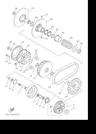 yamaha grizzly 600 parts diagram yamaha image 2001 yamaha grizzly 600 yfm600fn clutch parts best oem clutch on yamaha grizzly 600 parts diagram