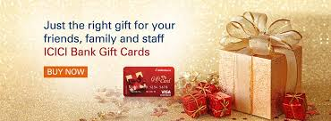 icici bank gift card