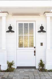 Black Front Porch Lights