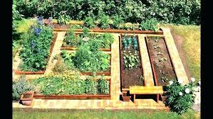raised vegetable garden plan these bed backyard ideas small gardening lawn r