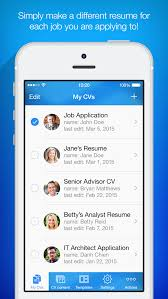 Resume Builder Resume Maker Apps 148apps