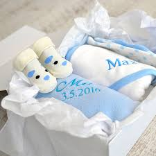 personalised new baby boy gift her