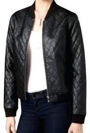 bar iii leather jacket bar iii black leather jacket bar iii split back asymmetrical faux leather