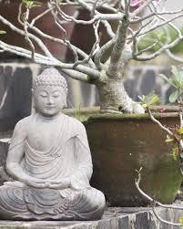 garden buddha. Meditating Chinese Garden Buddha Statue In Stone A