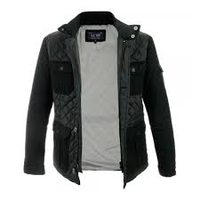 Armani Jeans Bust Black Quilted Jacket Z6K75 - Stuarts London & Armani Jeans Bust Black Quilted Jacket Z6K75 Adamdwight.com