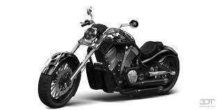 my perfect harley davidson custom chopper