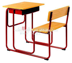 school chairs with desk desk organizer study table with drawer wooden school desk and chair in