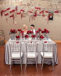 red and silver table decorations. 7.mariage-rouge-et-argent-table Red And Silver Table Decorations E