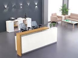 modern office reception desk. Office Reception Desk Custom Welcome Cashier Company Minimalist Modern N
