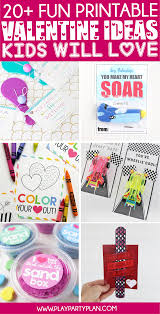 Valentines Day Cards For Boys 20 Fun Valentines Day Cards For Kids Play Party Plan