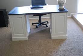 black desk white home office diy office desk black desk white home office