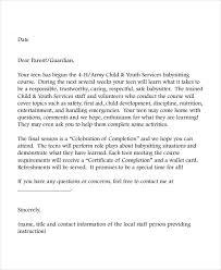 Sample Reference Letter For Babysitter Letter Template
