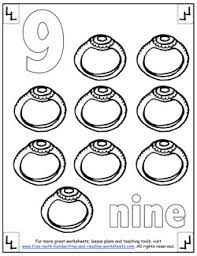 Small Picture Number Coloring Pages