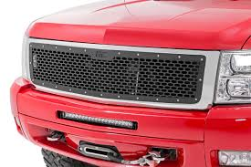 All Chevy chevy 1500 bolt pattern : Mesh Replacement Grille for 2007-2013 Chevrolet Silverado 1500 ...